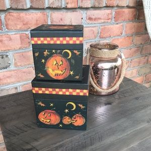 Halloween Boxes Set of Two 🎃
